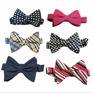 Handmade Velcro Bow ties Double layered